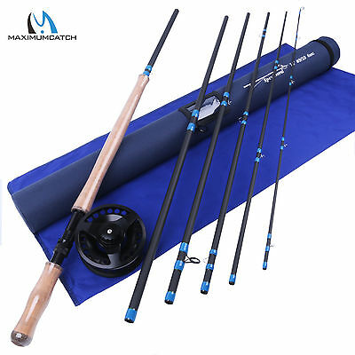 9/10WT Fly Fishing Rod Combo 14FT Medium-Fast 6SEC Fly Rod & 9/10WT Fly Reel