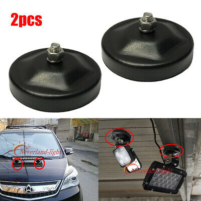 2X Powerful Magnetic Base Bracket Clamp for LED Work Light Bar Offroad SUV 4WD