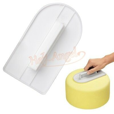 Easy Useful Fondant Cake Cutter Smoother Polisher Decor Glide DIY Kitchen Tool