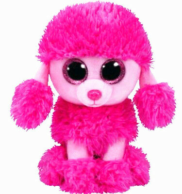 TY Beanie Boos PATSY the Pink Poodle Dog Plush Toys