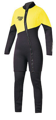 Action Plus Women's 6.5mm Farmer Jane Two Piece Wetsuit Sz 2XL MADE IN USA! NY