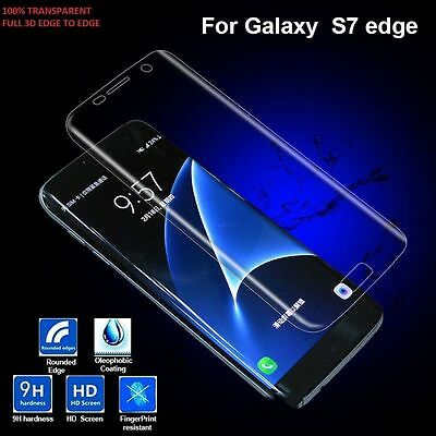 New Tempered Glass 9H Screen Protector 0.26mm for Samsung Galaxy S7 Edge Clear