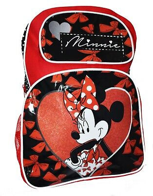 New Minnie Mouse Backpack School Bag Kids Girls Toddler Daycare Picnic Preschool