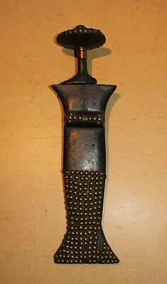 CONGO old african knife scabbard ancien couteau KONDA africa afrique kongo sword