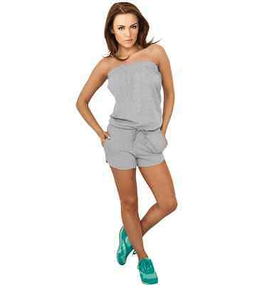 Jumpsuit URBAN CLASSICS Ladies Grau Stretch Jumpsuit