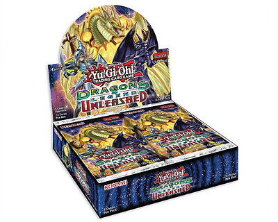 Yu-Gi-Oh Dragons of Legend Unleashed Trading Card Game Booster Box