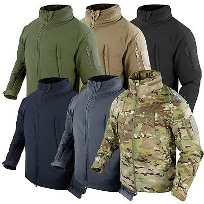 Condor Outdoor Tactical Military Summit Softshell Utility Jackets Sizes XS-XXXL