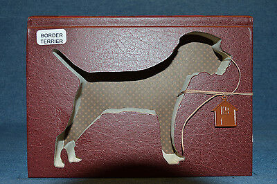 Border Terrier Upcycled Book - 002