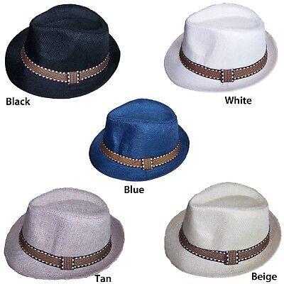 Fedora Trilby Hats For Kids  - Choice of 5 Colors ( FedHatK27* *)