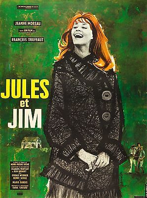 Jules and Jim 1962 Drama (French)/The Criterion Collection Movie POSTER