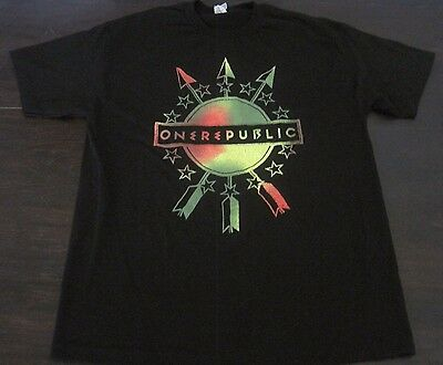 ONEREPUBLIC & The Script 2014 tour t-shirt RARE imagine dragons maroon 5 + CD