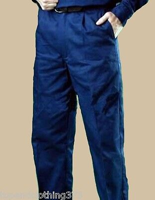 Mens Worksense Navy, Lightweight cotton Drill Pants. Trousers. – WS3382