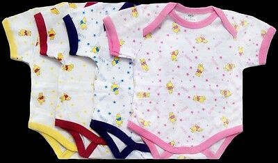 Baby Goods Creepers- Baby Body Suits  In Prints - New Born  6Pc Lot  (ECR1016#)