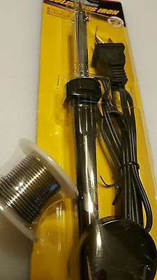 New 110V / 30W Welding Soldering Iron Heat gun tool and roll of solder wire