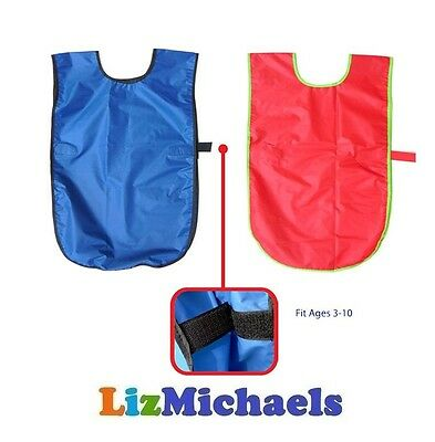 Brand New KIDS PAINT SMOCK APRON Paint Protection Craft Painting Dress