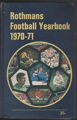 ROTHMANS FOOTBALL YEARBOOK 1970/71 HARDBACK FREE POSTAGE UK Very Rare