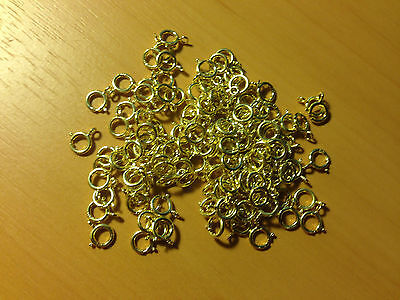 Gold 5Mm Clasps Pk100
