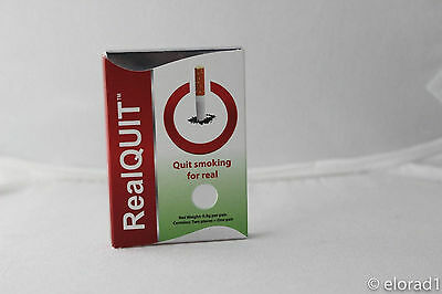 RealQuit Stop Smoking Bioactive Gold Coating Magnet Therapy