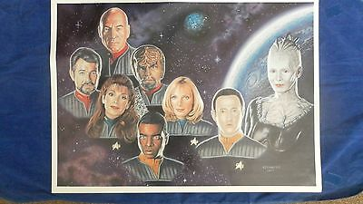Star Trek Limited Edition Print First Contact