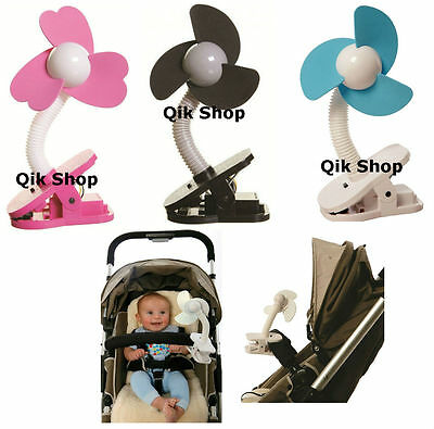 Portable Foam Fan For Stroller, Pushchair, Cot, Cribs, In The Car / Travelling