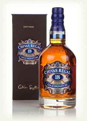 Chivas Regal 18 Yo Scotch Whisky Gold Signature 700Ml Bottle