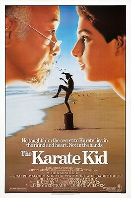 The Karate Kid 1984 Drama/Sport Classic Movie POSTER