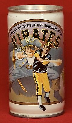 1979 PITTSBURGH PIRATES Iron City Pull Tab Beer Can 1979 World Series Champion