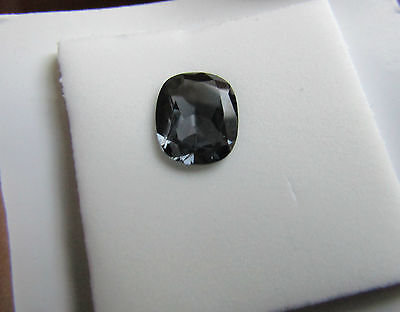 Top Notch Certified 1.45ct Eye Clean Bluish Grey Spinel Gemstone.