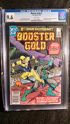Booster Gold #1 (DC Comics, 1986) - CGC Graded 9.6 - 1st Appearance Booster Gold