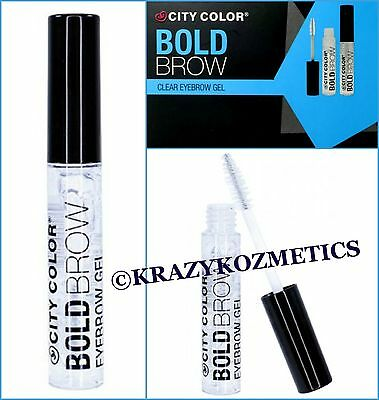 City Color Bold Brow CLEAR EYEBROW GEL - Shaping Mascara - Sealed -