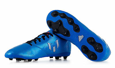 Adidas Kids Football Shoes Messi 16.4 FxG Junior Speed of Light S79648 New 2016
