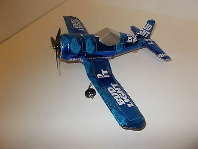 Aluminum soda can handcrafted airplane/BUD LIGHT 2016 CAN (CORSAIR)