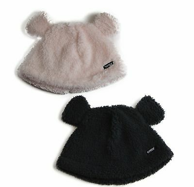 Bonds Baby Kids Boys Girls Fuzzies Winter Warm Beanie Ears Pink / Charcoal