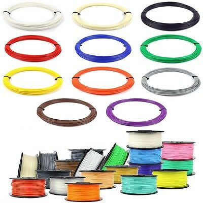 3D Printer Filament 1.75mm ABS/PLA 0.03-1KG RepRap MarkerBot Print Material