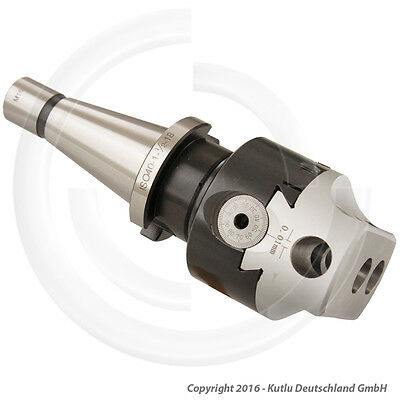 75 Mm Universal Usage Boring Head With Iso40 Shank