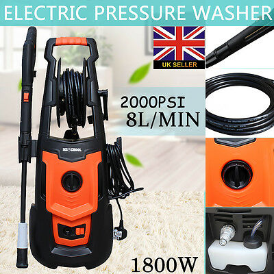 haute pression nettoyeur 1800w 2000 psi / 140 bar electric water patio cleaner