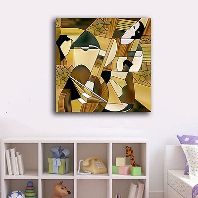 40×40×3cm Abstract Canvas Prints Framed Wall Art Home Decor Office Painting Gift