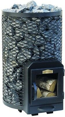 SAUNA Wood Burning Stove Round 20R for 12 - 20m3 steam room 20kW Without stones
