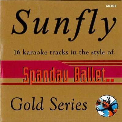 Sunfly Karaoke Gold Series Volume 3 Spandau Ballet CD+G New Sealed