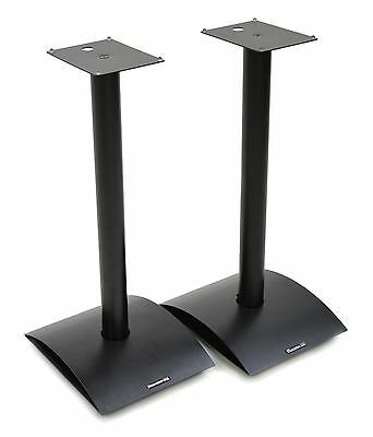 Atacama Estilo 6 Speaker Stands 600mm Satin Black (Pair)
