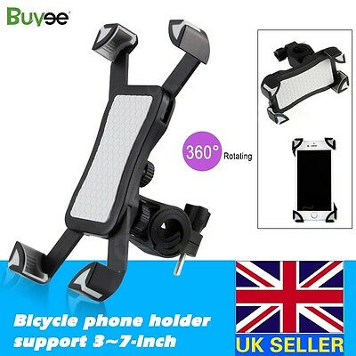 Bicycle Bike Handlebar Clip Mount Holder Stand for Mobile Phone Universal