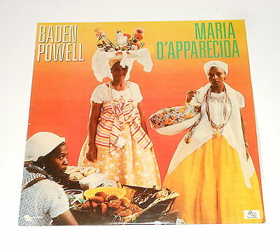 Brasil - Maria D'Apparecida - Baden Powell - LP - Mary Melody TM/MM 67543 - 1985