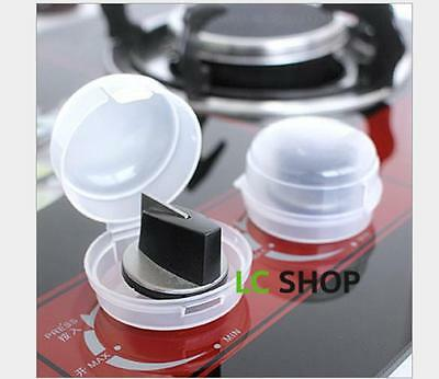 2PCS Baby Kids Safety Oven Stove Gas Range Control Switch Knob Cover Protector