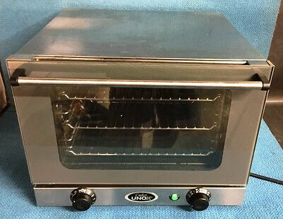 Cadco OV-250 Mini Counter Top Electric Convection Oven XA006