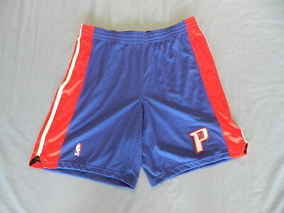 2008-09 Detroit Pistons non game used shorts