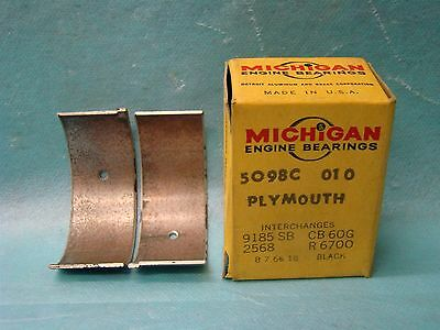 Dodge Plymouth 218 230 Six Series Special Deluxe Rod Bearing 010 1934-59 USA