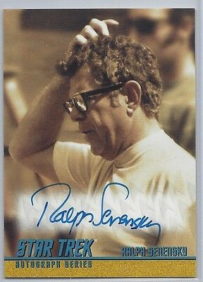 Star Trek Autograph Card A265 Ralph Senensky Director