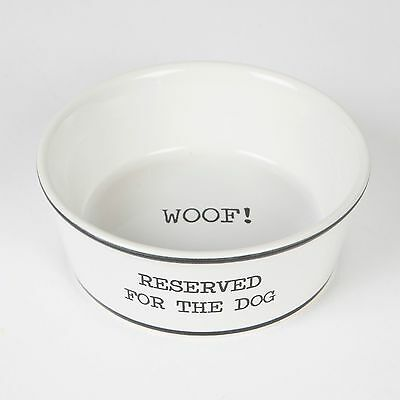 Reserved For The Dog - The Perfect Pet Food Bowl