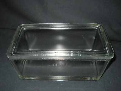 Wheaton 50-Slide Glass Staining Dish & Lid, 68mm x 88mm x 185mm Inside, No Rack