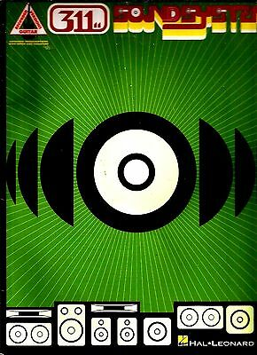 311 Soundsystem Guitar Tab Tablature Song Book Used